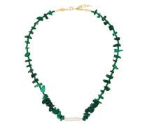 18kt 'Ines' vergoldete Halskette