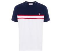 T-Shirt mit Stretcheinsatz