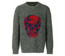 Pullover mit Totenkopfmuster