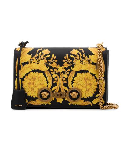 Versand Outlet-Store Online Rabatt Erstaunlicher Preis Versace Damen Schultertasche mit barockem Print Günstig Kaufen Neuesten Kollektionen texViiBB