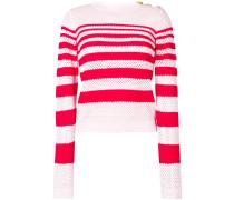 striped knit jumper
