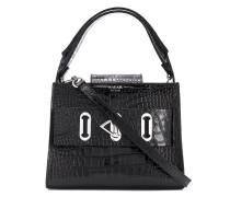'Ludo' Handtasche mit Kroko-Optik