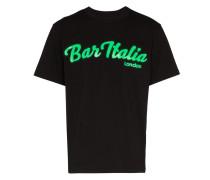 """T-Shirt mit """"Bar Italia""""-Print"""