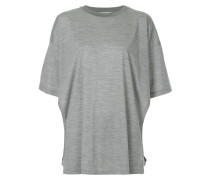 Oversized-T-Shirt mit Cut-Outs