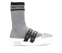Sneakers in Socken-Optik