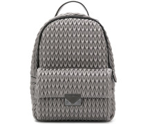 quilted drop backpack