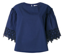 P.A.R.O.S.H. embroidered star blouse