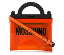 PVC-Handtasche mit Logo