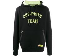 Off-Piste hooded sweatshirt