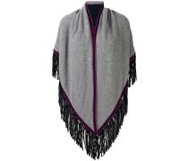 fringe poncho scarf