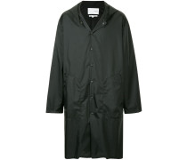 oversized buttoned coat