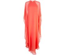 Robe mit Flatterärmeln