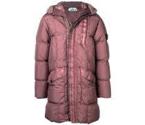crinkled padded coat