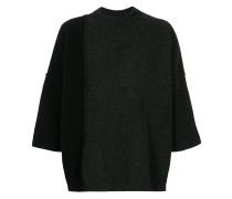 Pullover mit gekürzten Ärmeln