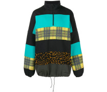 Oversized-Sweatshirt in Patchwork-Optik