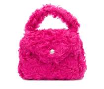 Handtasche mit Shearling