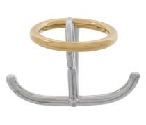 'Saturn' Ring aus Sterlingsilber