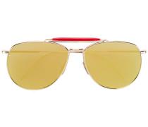 Verspiegelte Pilotenbrille