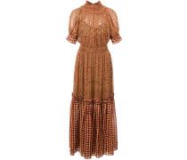 Stufenkleid aus Chiffon