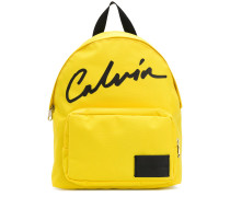 signature-print backpack