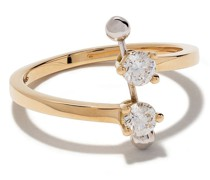 18kt 'Two In One' Goldring