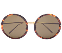 Tortoiseshell Brown 239 C12 Round Sunglasses