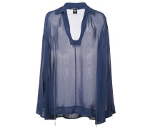 Semi-transparente 'Refinement' Bluse