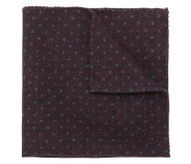 geometric print handkerchief