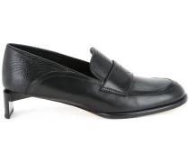 Loafer mit Kitten-Heel-Absatz