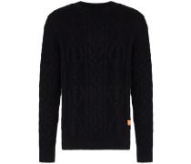 'Puno' Pullover mit Zopfmuster