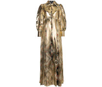 Robe mit Metallic-Effekt