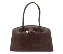 'Portfolio' Handtasche in Eidechsenlederoptik