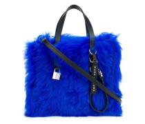 Mini 'Grind' Handtasche mit Fellbesatz