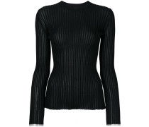 Long Sleeve Ribbed Crewneck