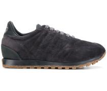 Wildleder-Sneakers mit geriffelter Sohle