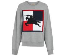 Sweatshirt mit Ritteremblem