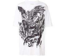 T-Shirt mit Illustrations-Print