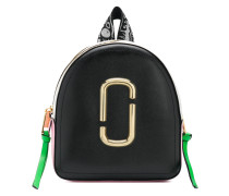 Rucksack in Colour-Block-Optik