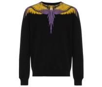 Sweatshirt mit Flügel-Print