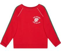 Sweatshirt mit ''Spiritismo''-Print