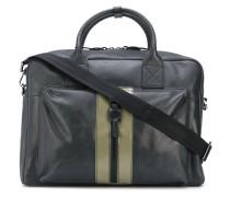 Handtasche mit Kontraststreifen