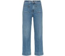 'Raquel' Jeans mit aufgesetzten Taschen