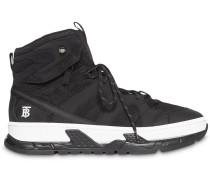 High-Top-Sneakers mit Monogramm