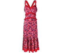 Gerüschtes 'Atomic Garden' Kleid