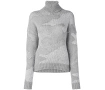 Pullover mit Camouflage-Muster