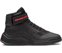 'Linea Rossa' High-Top-Sneakers