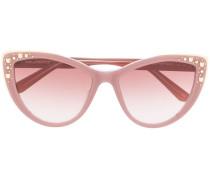 Sonnenbrille mit Choupette-Nieten