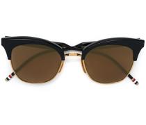Cat-Eye-Sonnenbrille aus 18kt Gold