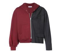 half hoodie jacket