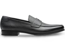 Loafer aus Saffiano-Leder
